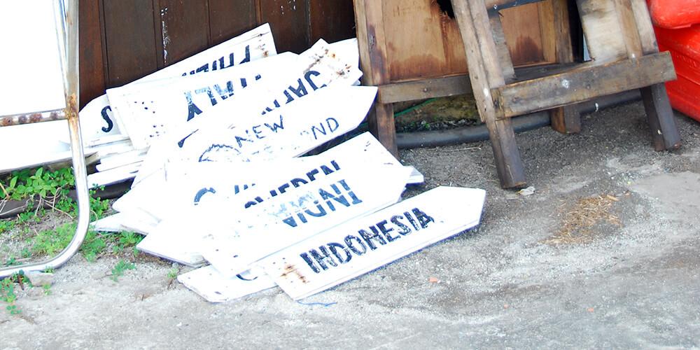 signs Layang Layang