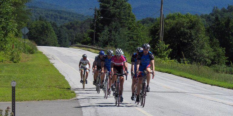 Biking Vermont