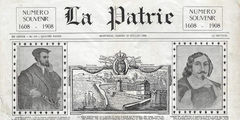 La Patrie - 1908 - Samuel de Champlain