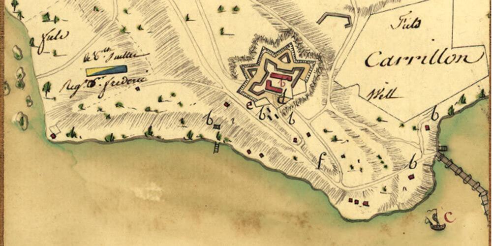 Map Lafayette cartographer