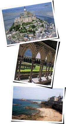 Mont Saint-Michel - Saint-Malo