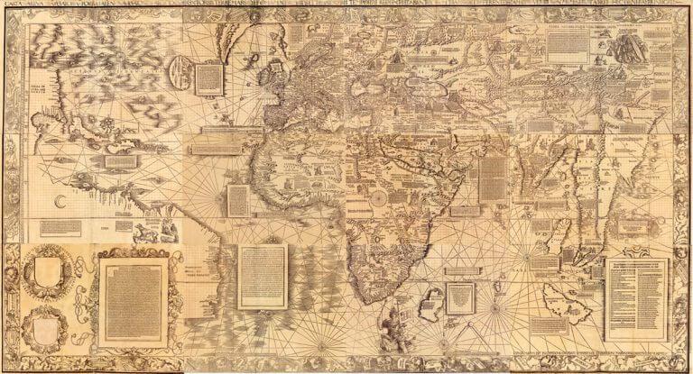 1516 Martin Waldseemüller map