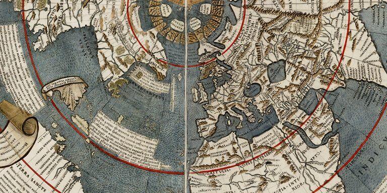 Johann Ruysch world map