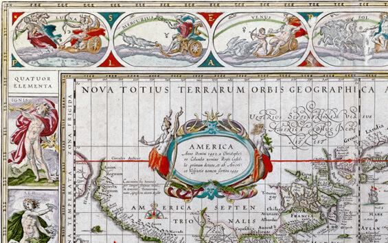 Nova Totius Terrarum Orbis - Willem Blaeu