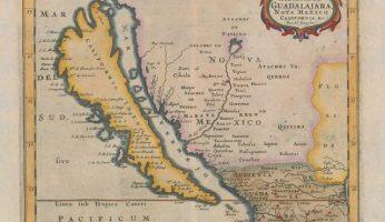 Map - California as an island