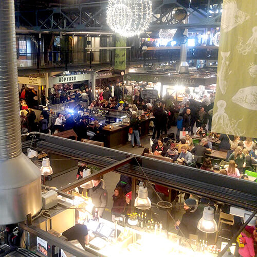 Oslo Mathallen market