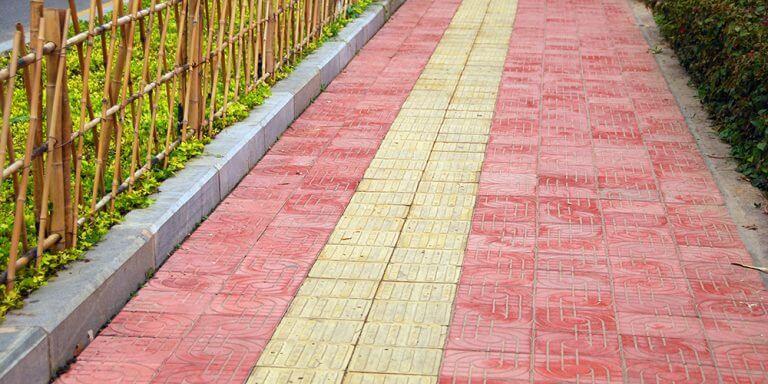 sidewalk for blinds