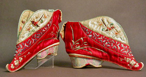 Chinese bound feet shoes