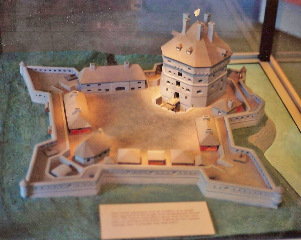 model fort saint-frederic